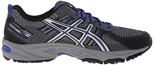 ASICS Men's Gel Venture 5 Running Shoe, Silver/Light Grey/Royal, 10.5 M US by ASICS (Image #15)