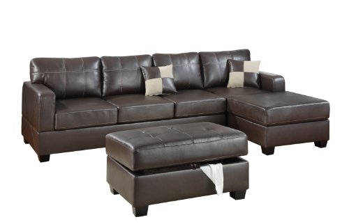 bobkona-wilder-3-piece-bonded-leather-reversible-sectional-sofa-with-matching-ottoman-dark-brown
