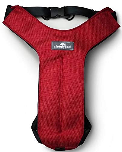 "Sleepypod Click-It Sports Safety Harness, Strawberry Red, Large 28.5"" - 34"""