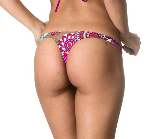 Coqueta Sexy Teeny Mini Brazilian Bikini Thong Swimsuit Bottom Swimwear DIVA-LARGE