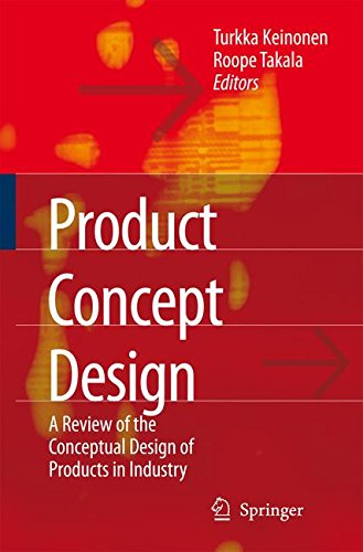 Download Product Concept Design: A Review of the Conceptual Design of Products in Industry pdf