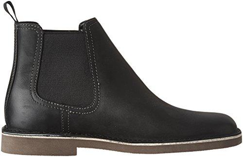 discount fashion Style cheap sale popular CLARKS Men's Bushacre Hill Chelsea Boot Black Nubuck LU3FZRcU