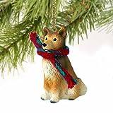 Finnish Spitz Miniature Dog Ornament