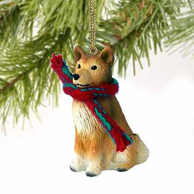 Finnish Spitz Miniature Dog Ornament