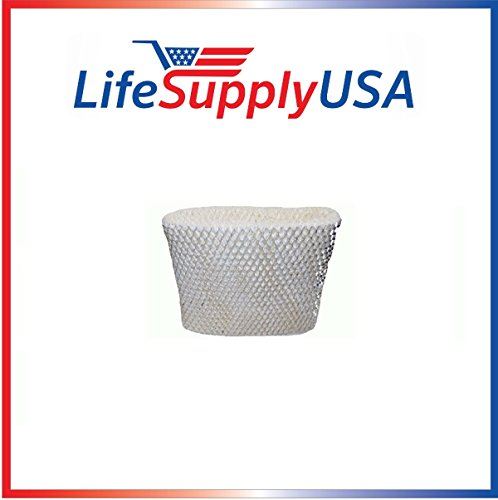 LifeSupplyUSA Replacement Humidifier Wick Filter C for Holme