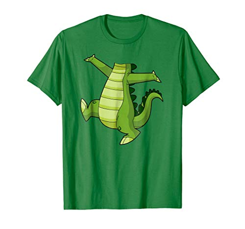 Mens Crocodile Alligator Easy Halloween Costume T-Shirt XL Kelly Green