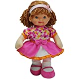 """Baby's First Premium Molly Manners Baby 13"""" Soft Machine Washable Baby Doll for Boys and Girls 1+"""