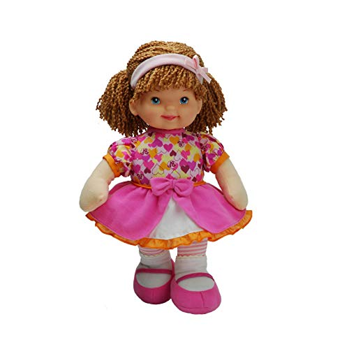 Babys First Premium Molly Manners Baby 13 Soft Machine Washable Baby Doll for Boys and Girls 1+