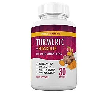 Flawless Turmeric Diet Turmeric Forskolin Advanced Weight Loss Formula Suppress Appetite