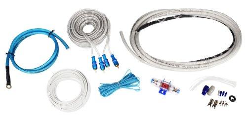 Interconnect Kit - Rockville RMWK4 4 AWG Waterproof Marine/Boat Amplifier/Amp Installation Wire Kit