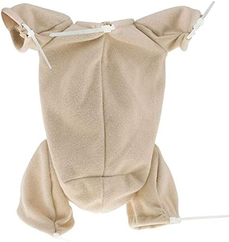 Soft Doe Suede Body Soft Cloth Fits for 28 inch Reborn Toddler Baby Dolls Kits