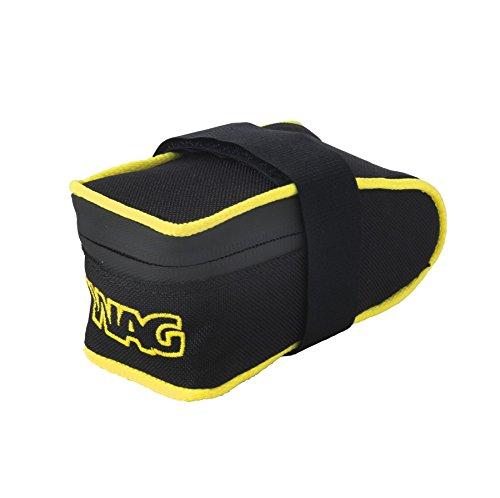 Wag Satteltasche Corsa Cordura kratzfest schwarz gelb fluo (Taschen Schabracke)/Saddle Bag Corsa Cordura Anti-Scratch Black Neon Yellow (Wing Case)