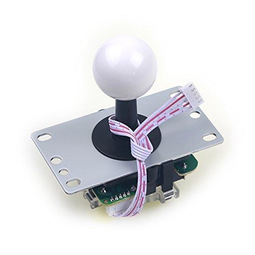 Easyget 4 / 8 Way Switchable Professional Arcade Joystick...
