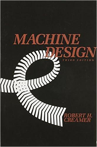 Machine design 3rd edition r h creamer 9780201112801 amazon machine design 3rd edition 3rd edition fandeluxe Gallery