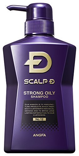 Scalp D Medical Hairgrowth Shampoo for Men 2016 (Strong Oily Skin Type) (11.83Fl Oz) (JapanImport)