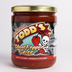 Todds Ghost Pepper Salsa