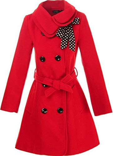 Femme Coat Fashion Slim Fit Double Boutonnage Longues Manteau Sp