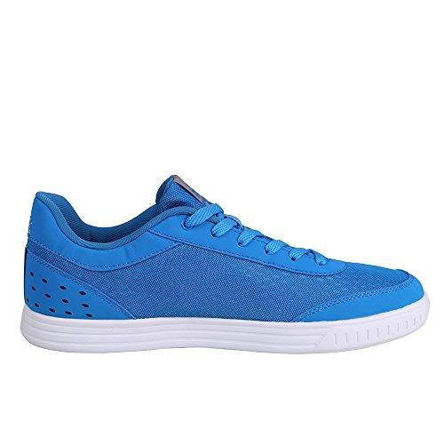 Peak-low Skateboard-sneaker Voor Heren Blauw