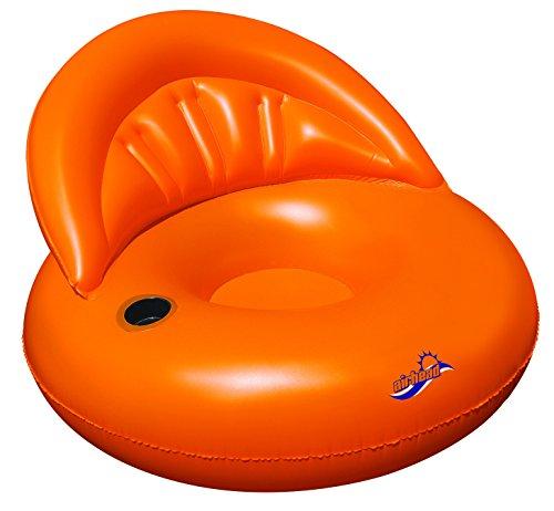 [Airhead AHDS-012 Designer Series Chair, Tangerine] (Series Water Towable)