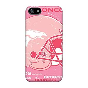 Iphone 5/5s QVR2684nGbn Custom Trendy Denver Broncos Series Shock-Absorbing Cell-phone Hard Cover -IanJoeyPatricia