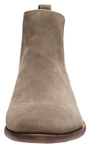 Pictures of JOUSEN Men's Chelsea Boots Elastic Formal Gray 11.5 M US 7