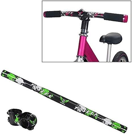 WXK Empuñaduras de Bicicleta La Fibra de Carbono niños Equilibrio ...