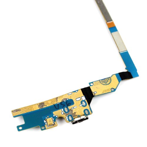 Image of Genuine New USB Charging Port Connector Flex Cable with Mic