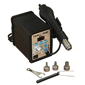 HFS (R) Digital LED 959D Hot Air Soldering Rework Station Blower Heat Gun from HFS