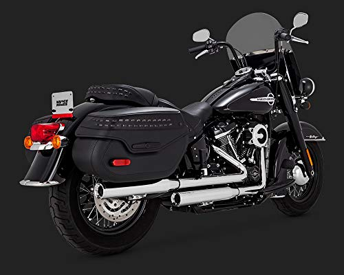 18-19 HARLEY FLHCS: Vance & Hines Eliminator 300 Slip-On Exhaust (Chrome) ()
