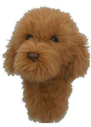 Daphne's HeadCovers: Labradoodle / Doodle Dog Golf Club - Headcover Club Golf Dog
