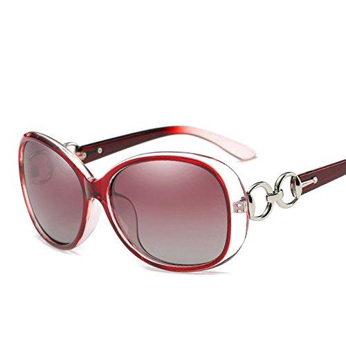 gafas gafas de de las nuevas sol Gafas de mujeres 12 13 las polarizadas de sol las CJ sol de de xq01w8O7