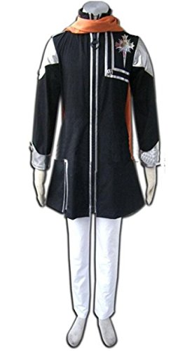 [Vicwin-One D.Gray-man Lavi Cosplay Costume] (Lavi D Gray Man Cosplay Costume)