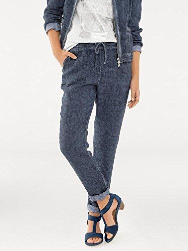 jeans Pantaloni Connections Best Donna Blu 5qg0xxwRdn