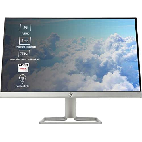 chollos oferta descuentos barato HP 22f Monitor de 22 FHD 1920 x 1080 pixeles Tiempo de Respuesta de 5 ms 1 x HDMI 1 x VGA 16 9 Negro y blanco