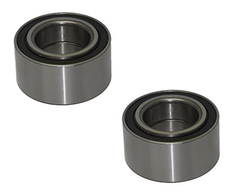 Detroit Axle Both (2) New Front Driver & Passenger Side Complete Wheel Bearing for Honda Civic w/ABS - 1994-2001 Acura Integra