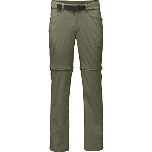 The North Face Straight Paramount 3.0 Convertible Pant - Men's Deep Lichen Green, 32/Short