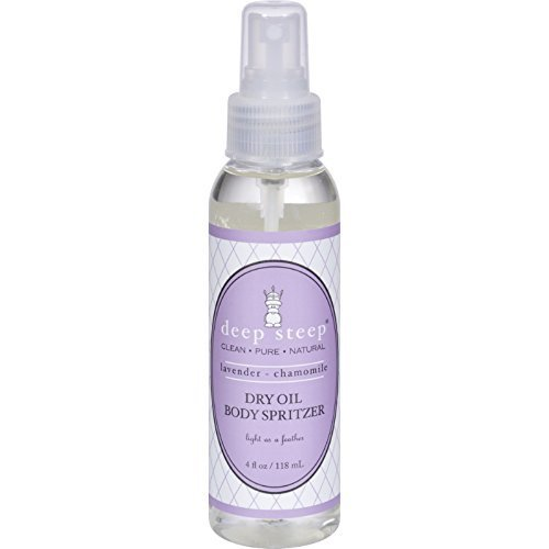 DEEP STEEP DRY OIL BDY SPRY,LAV CHAM, 4 - Body Oil Dry Spritzer