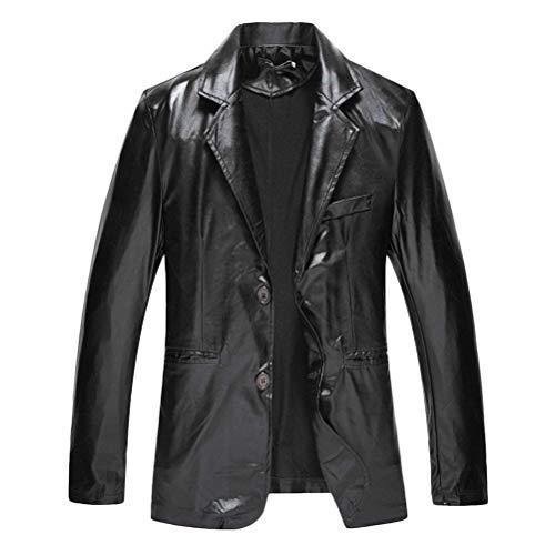 Retro Hommes Bronzage Costumes Vestes Unie Styles Casual Veste De Nuit Costume Manteau Slim Blazer Boutons Fit Schwarz Jeunes Couleur 2 Boîtes YdfqY