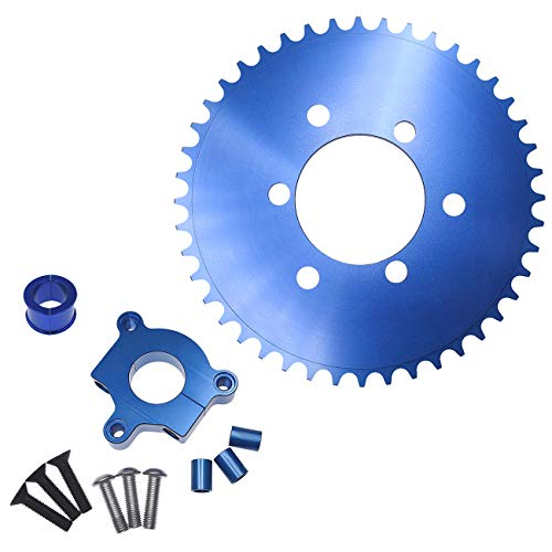 Supermotorparts Blue CNC Adapter