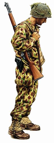 Military Uniforms of WWII Wall Decals - Private Inf Div 1st Army 24