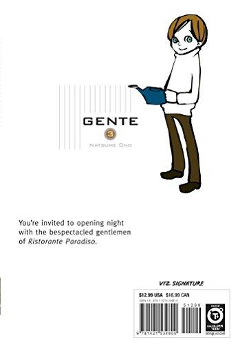 Gente, Vol. 3: The People of Ristorante Paradiso