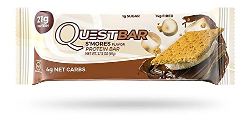 Combat Smores (Quest Nutrion Protein Bars Mix & Match Your Favorite Flavors (S'Mores))