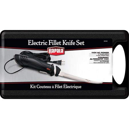 Rapala - Electric Fillet Knife Set #REFACW
