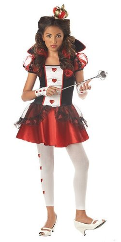 Queen of Hearts Costume - (Queen Of Hearts Costume Halloween)