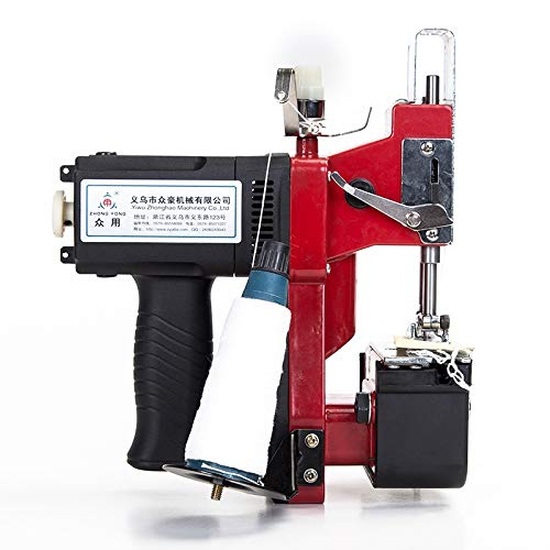 XiaoMinZhang Portable Electric Handle Knitting Bag Sack Close Sealing Machine Durable