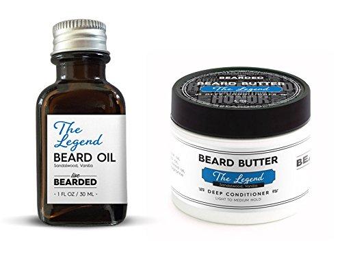 Beard Kit - The Essentials (Beard Oil and Beard Butter) (Sandalwood Vanilla - The Legend)