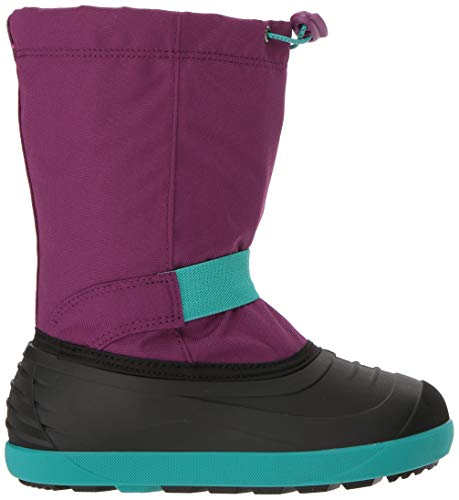 Pictures of Kamik Girls' JETWP Snow Boot, Purple/Teal, 9 Medium US Toddler 3