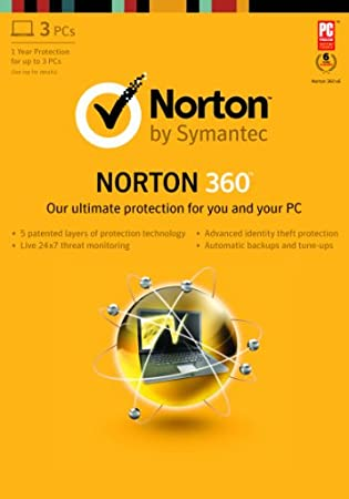 Norton 360 2013 - 1 User / 3 PC [Download]