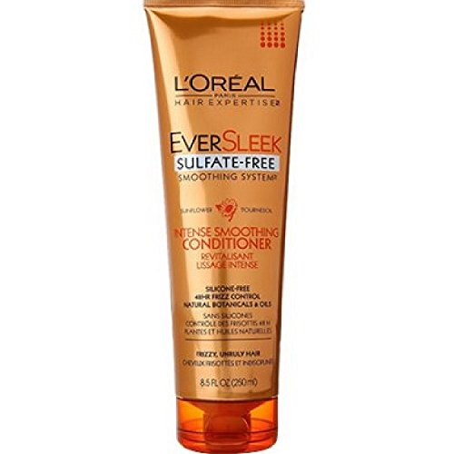 L'Oreal Paris EverSleek Sulfate Free Smoothing System Intense Smoothing Conditioner, 8.5 fl. Oz. (L Oreal Conditioner compare prices)