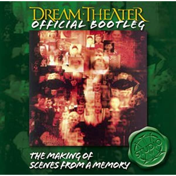 Dream Theater Official Bootleg The Making Of Scenes From A Memory Audio Cd Dream Theater Music